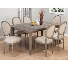 Contemporary Dining Table by Contemporary Dining Table Set With Six Curved Upholstered Wooden