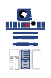 R2d2 Printable Template wars r2 d2 template search wars
