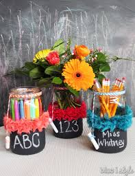 gifts with style appreciation chalkboard jar vases