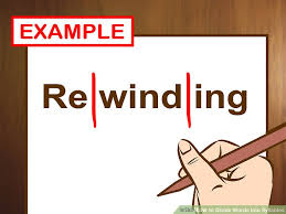 how to divide words into syllables with cheat sheet wikihow
