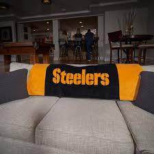 steelers man cave banner pittsburgh chairs tailgate gavins steeler