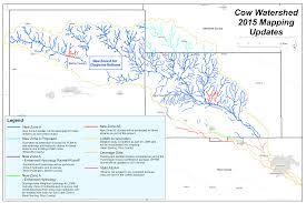 Cheyenne Map Cow Creek Watershed