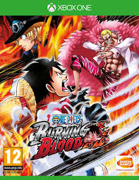 one piece one piece burning blood xbox one amazon co uk pc u0026 video games