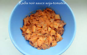 comment cuisiner le radis noir cuit recette radis noir sauce soja tomates 750g