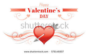 happy valentines day banner valentines day banner stock images royalty free images vectors