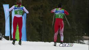 ladies 4x5km cross country skiing relay full event vancouver