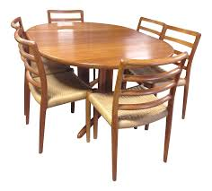 dining room table and 6 chairs vintage u0026 used dining table u0026 chair sets chairish