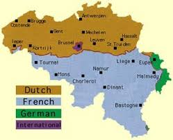 belgium language map belgium its history in a nutshell infobarrel