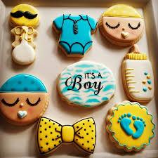 baby shower cookies compulsive foodie