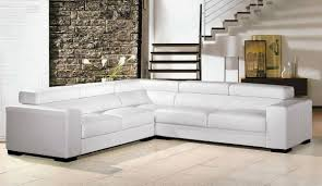Leather Tufted Sectional Sofa Sofa White Leather Armchair White Sectional Sofa Blue And White