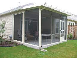 Outdoor Screen House by Screen Rooms For That Country Feel Nu View