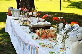 Ideas For Bridal Shower by Suburbs Mama Picnic Bridal Shower
