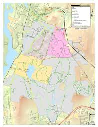 Boston Zoning Map by Mountain Biking Town Of New London Nh