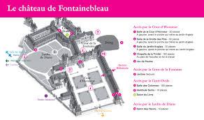 fontainebleau jardin france plan chateau fontainebleau le notre