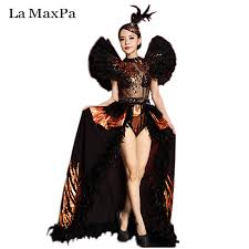 Halloween Costumes Singers Cheap Costumes Stage Female Aliexpress