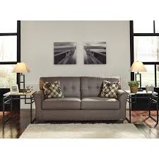 Furniture Design Sofa Classic Contemporary Sofa With Tufted Back By Signature Design By Ashley