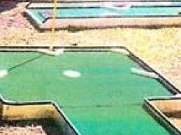 3 or 9 hole mini golf backyard bounce
