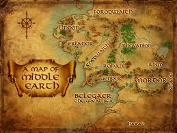 map hobbit middle earth map a pilgrim in narnia