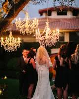 wedding lighting ideas outdoor wedding lighting ideas from real celebrations martha