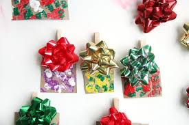 easy mini gift ornament craft for to make