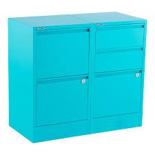 Three Drawer File Cabinet Home Decor Fetching Locking File Cabinet And Bisley Aqua 2 U0026 3