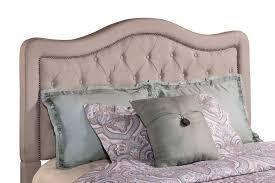 hillsdale trieste tufted upholstered headboard dove gray linen