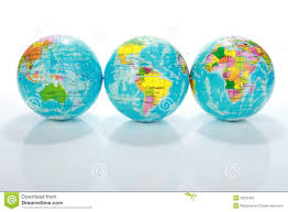 Earth Globe Map World by World Globe Maps Royalty Free Stock Photo Image 20332325