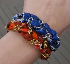 chain braided bracelet images Diy braided fabric chain bracelet chicago fashion flair jpg