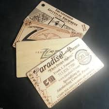 100 custom wooden business cards shapes wood multi pack