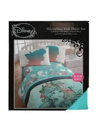 disney the little mermaid microfiber full sheet set topic