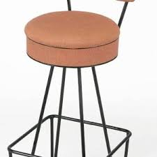 Wrought Iron Bar Stool Furniture Rustic Wrought Iron Bar Stools With Back And Round