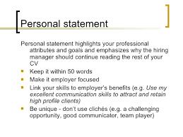 resume statements examples resume goals sample resume branding