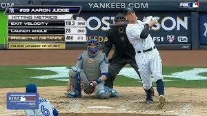 aaron judge crushes 52nd homer 484 feet new york yankees