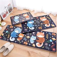 Owl Kitchen Rugs Owl Carpet 45 120cm Kitchen Mat Home Carpet Door Antislip