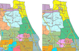 Florida House Districts Map House And Senate At Odds Over Congressional Map But No