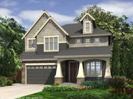 house plans for narrow lots craftsman house plans two craftsman home plan fits a