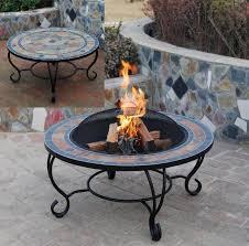 Garden Firepits Java Mosaic Firepits Garden Bbq Table Astove Home Devotee