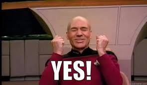 Yes Meme Picture - picard says yes quickmeme