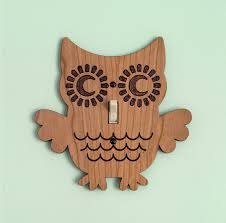Owl Kitchen Curtains by Owl Lightswitch Cover Cute For A Baby U0027s Room Modern Nursery