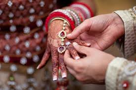 indian wedding rings beautiful bridal indian ring ceremony