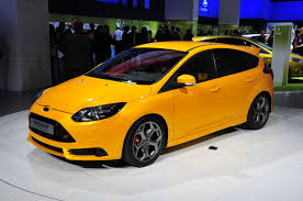 ford focus st yellow the 2017 ford focus st is a value for