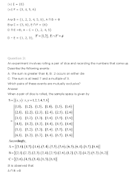 ncert solutions for class 11th maths chapter 16 u2013 probability