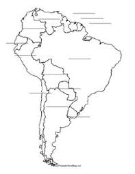 south america map with country names and capitals map south america pencil and in color map south america