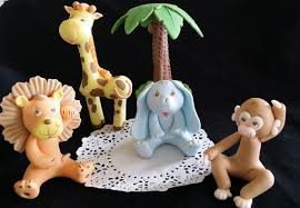 jungle cake animal jungle cake topper safari cake animals