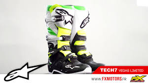 tech 10 motocross boots bottes motocross alpinestars tech 7 vegas youtube