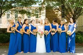 royal blue wedding royal blue bridesmaid dresses archives southern weddings