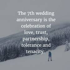 marriage celebration quotes best 25 7 year anniversary ideas on 7th anniversary