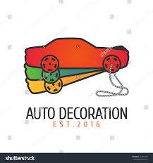 car paint vector logo icon emblem stock vector 429265129