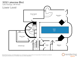 Lakeview Home Plans Floor Plans Smart Galleries Rendering Space