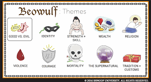themes of beowulf poem beowulf theme of good vs evil